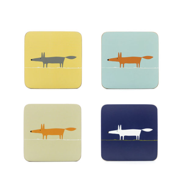 Scion Living Mr Fox - Coaster Set of 4