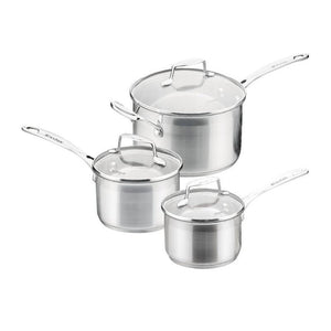 Scanpan - 3pc Impact Saucepan Set