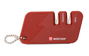 Wusthof - Pocket Knife Sharpener - Red