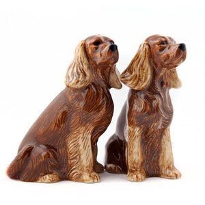 Quail - Cocker Spaniel Salt & Pepper Set