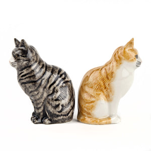 Qual - Patience & Squash Moggy Salt & Pepper set