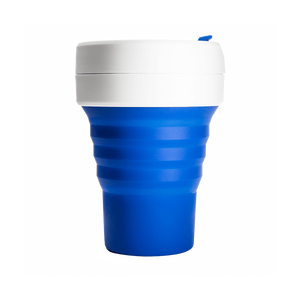 Stojo - 12oz Collapsible Pocket Cup - Blue