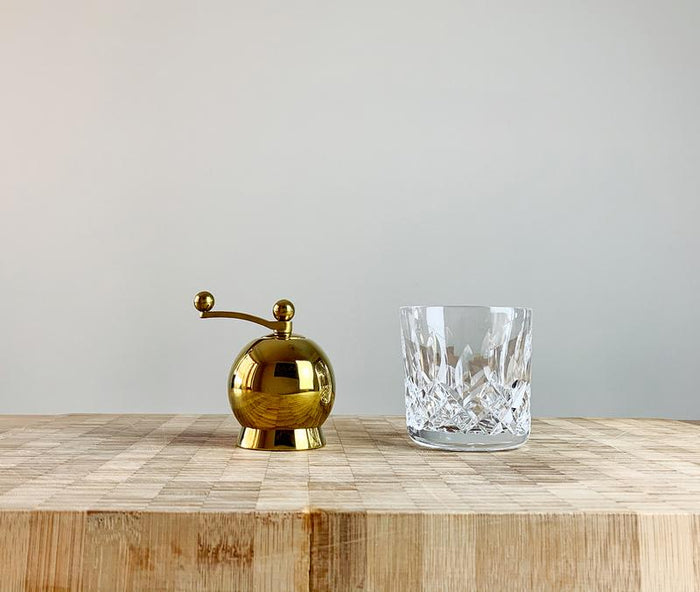 Nick Munro - Sphere Gold Plated Salt Mill - Small