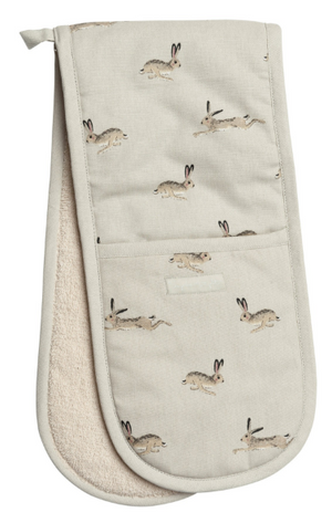 Double Oven Glove - Hare
