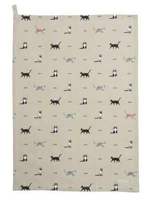 Sophie Allport - Purrfect Tea Towel