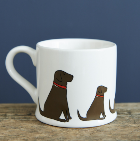 Mug - Chocolate Labrador
