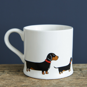 Sweet William - Mug - Dachshund/Sausage dog