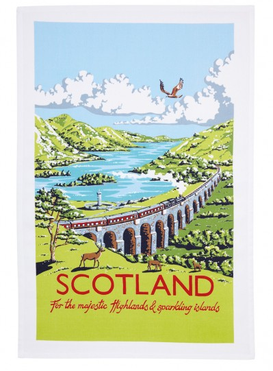 Tea Towel - Scotland, Kelly Hall