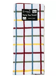 Tea Towel - Red Multicheck