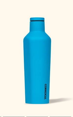 Corkcicle Neon Blue 9oz Canteen