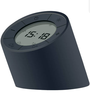Ginko - Edge Light Alarm Clock Black