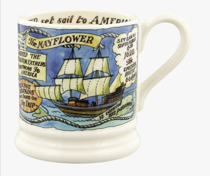 Emma Bridgewater 1/2 pint Mug - The Mayflower 400 years
