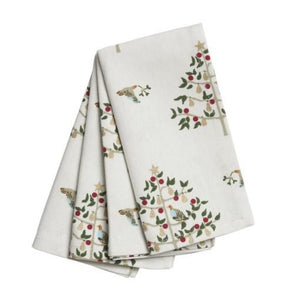 Sophie Allport - Napkins set of 4 Partridge in a Peartree