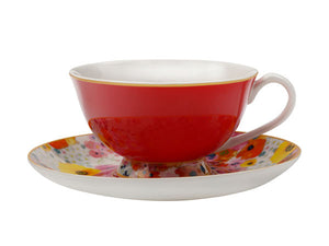 Maxwell & Williams - Cashmere - Bloems - Teacup & Saucer 200mls