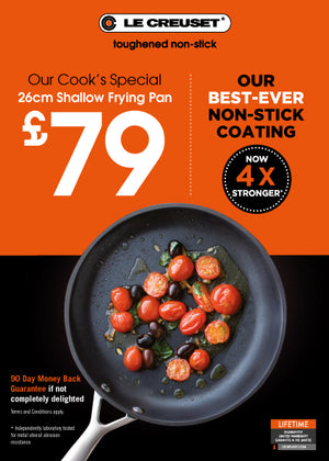 Le Creuset - TNS Shallow Frying Pan (5 sizes available)