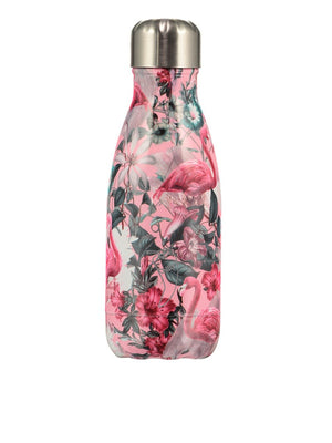 Chilly's - 260ml Tropical Vacuum Flask - Flamingo