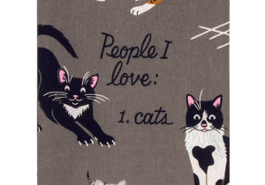 Incognito - People I love - Cats Tea Towel