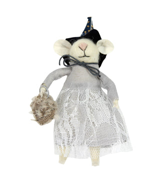 Gisela Graham - Wool Mix - Mouse Witch
