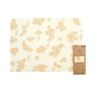 "Bees Wax Wrap -  Bread Wrap 17""x23"""