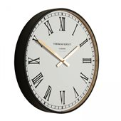 "Thomas Kent 16"" Clocksmith Wall Clock - Black"