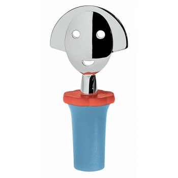 Alessi - Bottle Stopper - Anna Stop 2 In Light Blue