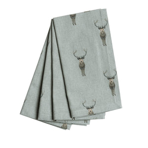 Sophie Allport - Highland Stag Napkins (Set of 4)