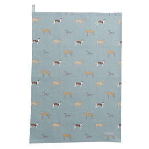 Sophie Allport - Speedy Dogs Tea Towel
