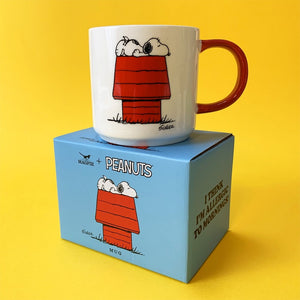 Peanuts - Bone China Mug - Allergic to Mornings