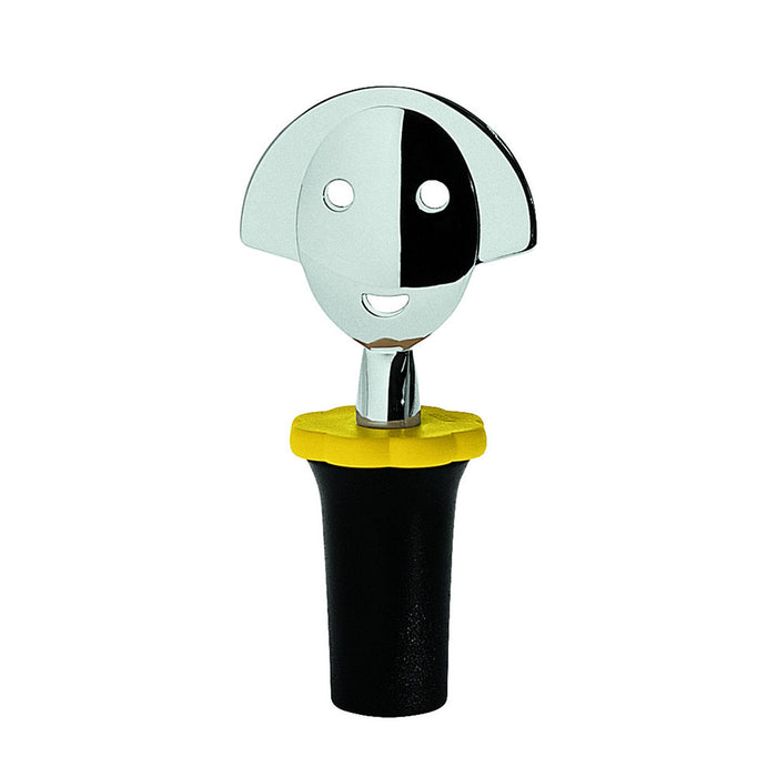 Alessi - Bottle Stopper - Anna Stop 2 In Black