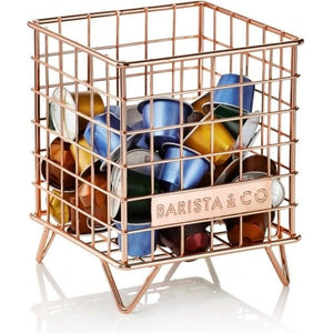 Pod Coffee Capsule/Accessory Cage - Electric Copper