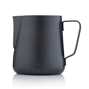 Barista & Co Core Stainless Steel Milk Jug - Black 420ml