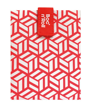 Boc n Roll Reusable Sandwich Wrap Red