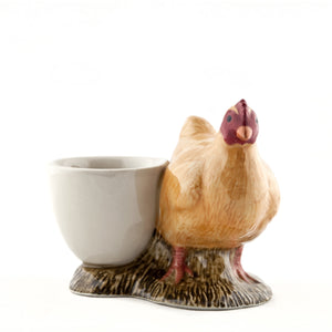 Quail - Buff Orpington with Egg Cup