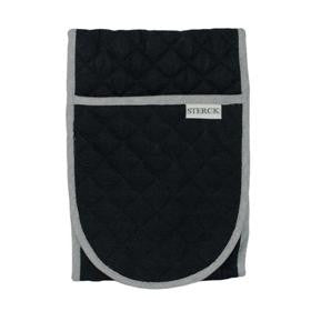 Double Oven Gloves - Black/Grey