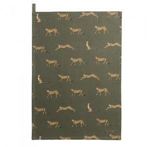 Sophie Allport - Cheetah Tea Towel