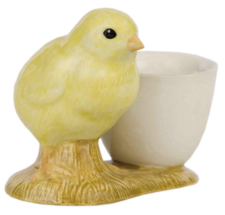 Quail - Yellow Chick with Egg Cup