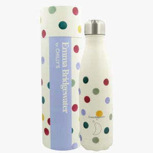 Chilly's - Emma Bridgewater Polka Dots Water Bottle - 500ml
