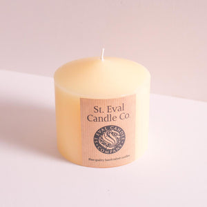 "St Eval Candle Co - Church Candle 4""x4"""
