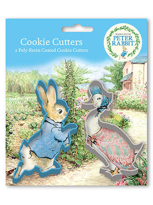 Anniversary House - Peter Rabbit Poly Resin Coated Cookie Cutter Set