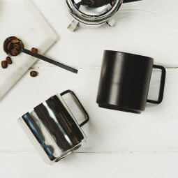 Just Slate - Set of 2 Stainless Steel Coffee Cups