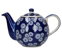 London Pottery Small Daisies 4 Cup Teapot