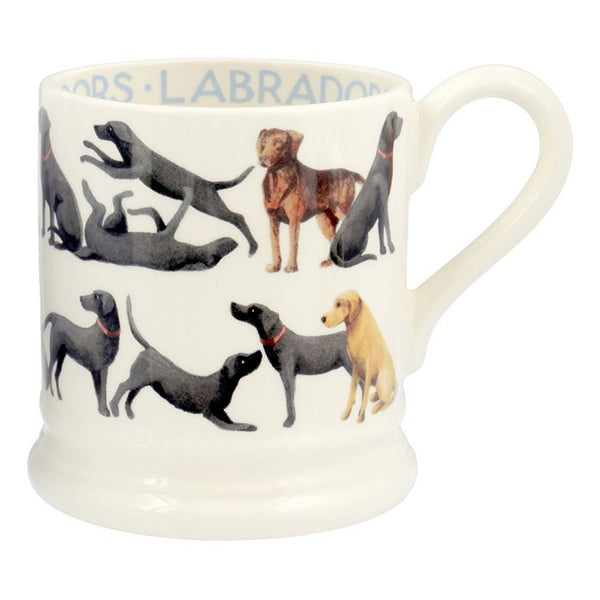 Emma Bridgewater - All Over Labrador Half Pint Mug