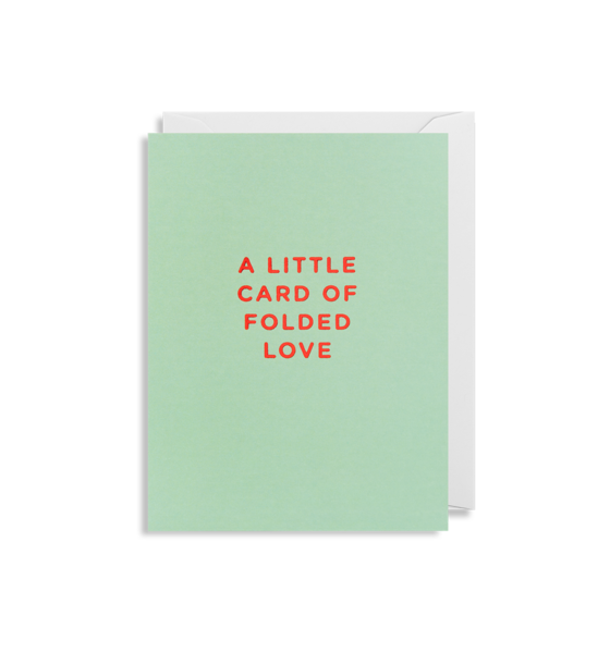 Lagom - A Little Card of Folded Love