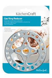 Kitchencraft - Gas Ring Reducer - Stainless Steel