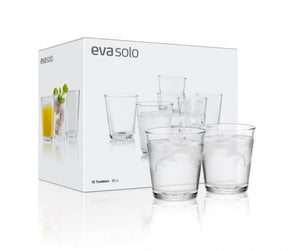 Eva Solo Set of 8 Tumblers .38cl in Giftbox