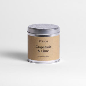 St Eval Candle Co - Grapefruit & Lime Scented Tin Candle