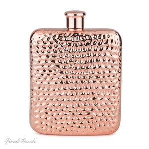 Final Touch - Copper Plated Final Touch Hip Flask