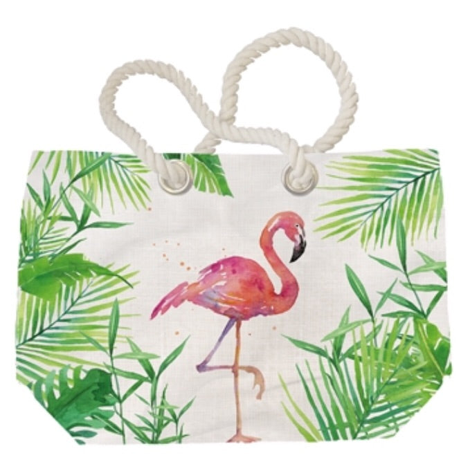 PPD - Tropical Flamingo - Beach Bag