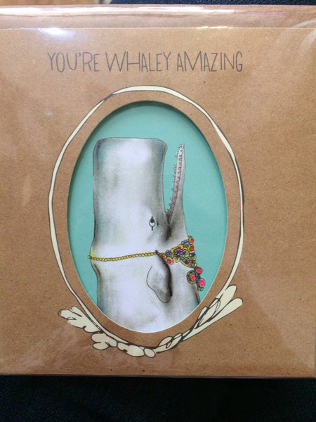 Card you're whaley amazing