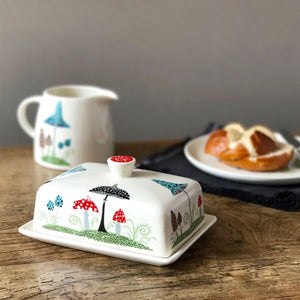 Hannah Turner - Toadstool Butter Dish
